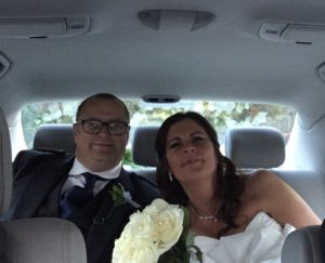 Karen and Andrew wedding car hire Testimonial