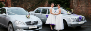 patsy and michelle glasgow wedding car hire