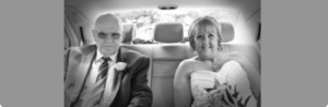 wendy and robert glasgow wedding car hire