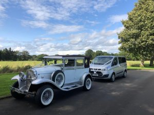 luxury wedding cars glasgow